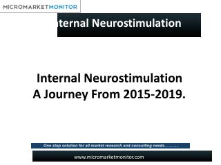The global internal neurostimulation market.