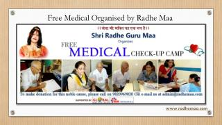Free Medical Organised by Radhe Maa
