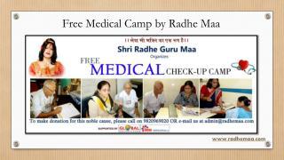 Free Medical Camp by Radhe Maa