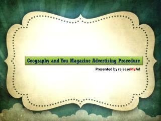 Start G'nY Magazine Advertising