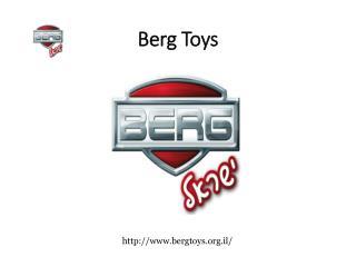 Berg Toys - Best Trampoline Company in Israel