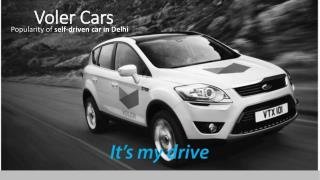 Go for self drive car rental in Delhi - VOLER CARS