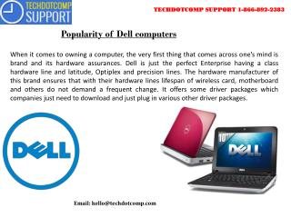 How Dell Support is the best service provider in Tech Industry
