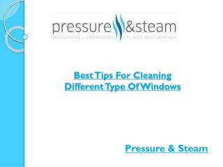 Best Tips For Cleaning Different Type Of Windows