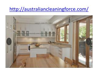 House Cleaners -Australian Cleaning Company