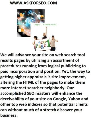 Seo Services Islamabad