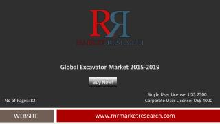 Excavator Market Global Research & Analysis Report 2019