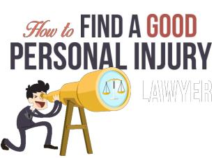 Find A Good Personal Injury Lawyer