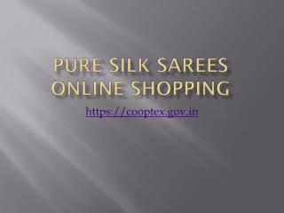 Pure Silk Sarees Online Shopping