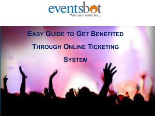 Online Ticketing System