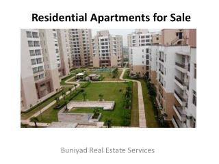 Residential Apartments for sale in Greater Noida