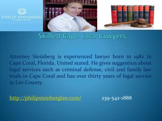 Skilled Cape Coral Lawyers