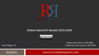In-Depth Hybrid PC Market Global Analysis and Forecasts 2015 – 2019