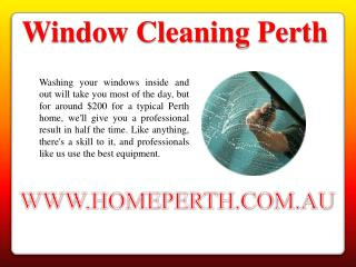 Window Cleaning Services Australia