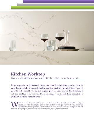 To Enhance Kitchen Decor And Reflect Creativity And Happiness