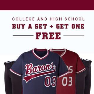 Uniformstore's custom baseball uniforms