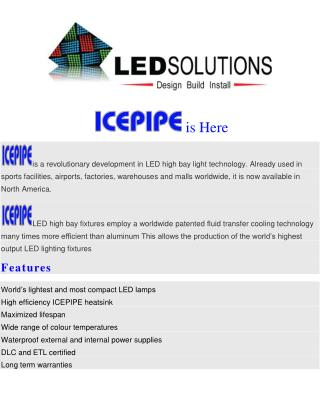 Icepipe Led High Bay Lights Are Here