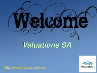 House Valuation Service with Valuation SA