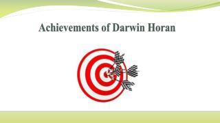 Achievements of Darwin Horan