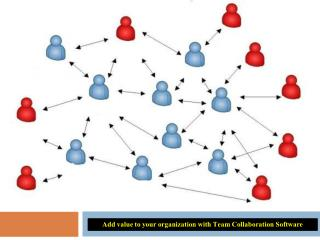 Add value to your organization with team collaboration software