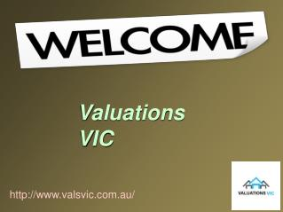 Perfect House Valuation Service with Valuations VIC