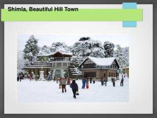Get Luxury hotels in Shimla