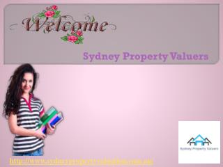 Get Sydney Property Valuers for home valuation