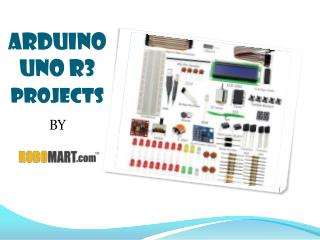 Arduino UNO R3 Projects - Robomart