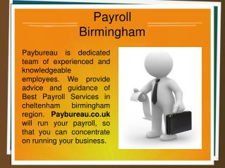 Payroll Birmingham