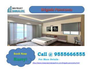 Brigade panorama presents 2 and 3 BHK apartments at Mysore road, Bangalore