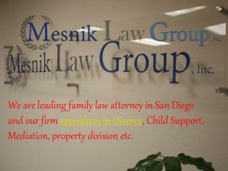 San Diego Divorce Lawyers