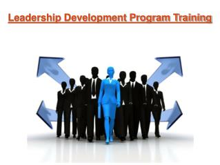 Leadership Development Program Training