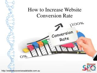 How to Increase Website Conversion Rate – Discover SEO Adelaide