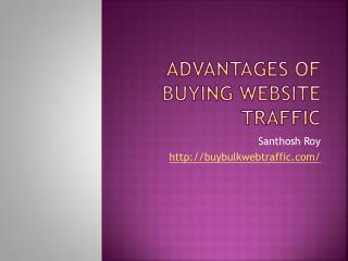 Valid Reasons For Buying Website Traffic