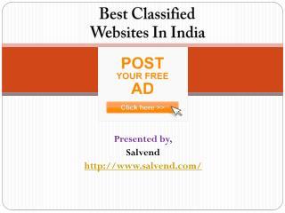 Best Classified Websites in India