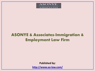 ASONYE & Associates-Immigration & Employment Law Firm