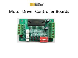 Motor Driver Controller Boards | Motor Board | Robomart