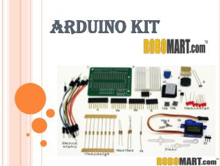 Buy Arduino Kit Online By Robomart