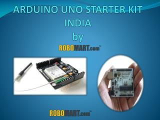 Arduino Uno starter kit by RObomart