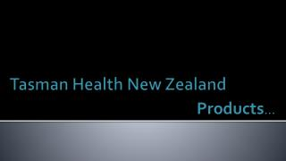 tasmanhealth products