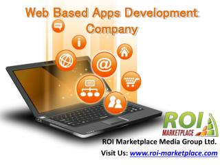 Web Based Apps Development Company Buffalo