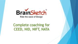 NID, NIFT Entrance & CEED, NATA Preparation