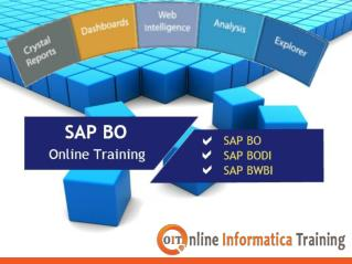 Online SAP BO Training under the Professional SAP Experts