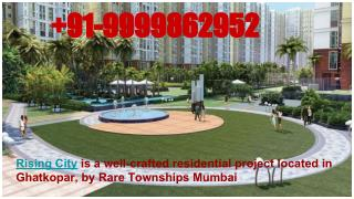 Rising City Ghatkopar Mumbai, Flat in Ghatkopar Mumbai, Rising City prices