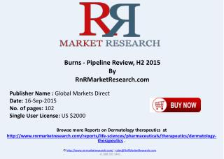 Burns Pipeline Review H2 2015