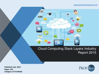 Cloud Computing Stack Layers Industry Growth, Market Size 2015   Prof Research Reports