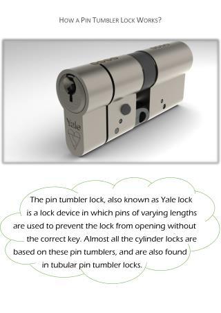 Understanding How Pin Tumbler Lock Works