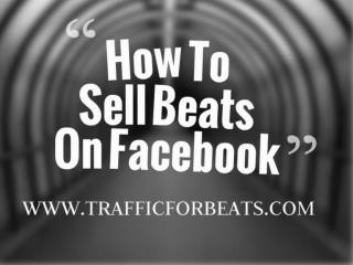 Selling Beats Online With Facebook Ads