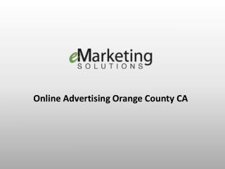 Online Advertising Orange County CA